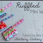 Mini ruffles wallet