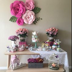 New Ideas birthday decorations for mom backdrops Birthday Decorations, Wedding Decorations, Bar Deco, Bridal Shower, Baby Shower, Paper Flower Backdrop, Giant Paper Flowers, Ideas Para Fiestas, Diy And Crafts