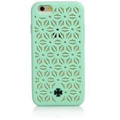Tory Burch floral perforated silicone case for iPhone 6, $55 - Google Search