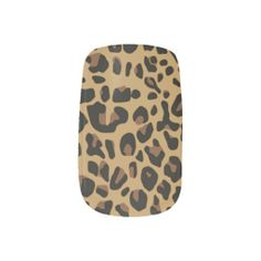 Wild Jaguar Pattern Minx Nails Nails Stickers