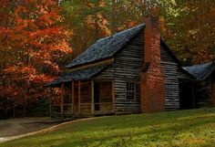 Cabin in the Great Smokey Mountains