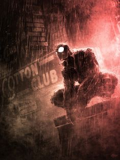Spider-Man Noir by Nivanh Chanthara