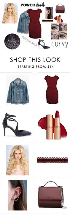 """""""Beauty Isn't in Size"""" by galaxy-moon-stars ❤ liked on Polyvore featuring Madewell, Sole Society, tarte, Givenchy, youdoyou and powerlook"""