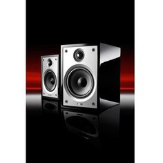 Acoustic Energy Compact 1 Stereo Full Range Speakers - High Gloss Black Finish - dogoodaudio - 1