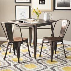 Shop For Tabouret Vintage Wood Seat Bistro Chair (Set/2). Get Free