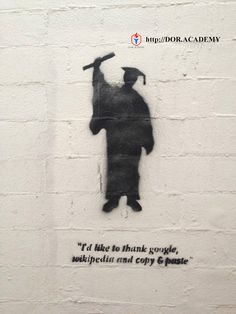 Funny pictures about Truthful Graduation Speech. Oh, and cool pics about Truthful Graduation Speech. Also, Truthful Graduation Speech photos. Banksy, Graffiti, Lol, Image, Art, Street Art Banksy