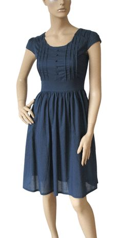 Blue cotton dress at Very.com  My (Realistic) Style  Pinterest ...