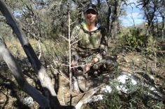 """Prois customer Lesli San Jose with her first deer ever (12/3/2013 Edwards County, Texas) on her first hunt ever!! Lesli says """"I have on three of my Prios items but earlier in the day I also had on my Prois jacket that I won here on Facebook"""" Way to go girl!! #firsthunt #prois #proiswasthere #womenhunting #outdoorwomen #hunting #venison #freerangemeat #naturalmeat #huntignsucess #girlpower #huntress"""