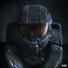 View an image titled 'Master Chief Vinyl Cover Art' in our Halo 4 art gallery featuring official character designs, concept art, and promo pictures. Halo Game, Halo 5, Vinyl Cover, Cover Art, Casco Halo, Video Game Art, Video Games, John 117, Halo Spartan
