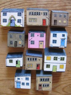 cottages by Joy Williams Available by jamjarart on Etsy