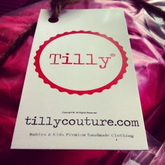 Www.tillycouture.com TillyCouture  Tilly WorkDone #atthesewingmachine