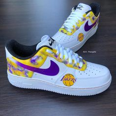 Behind The Scenes By _theoglife Kobe Bryant Shoes, Kobe Shoes, Custom Painted Shoes, Custom Shoes, Nike Custom, Custom Sneakers, Nike Fashion, Sneakers Fashion, Prep Fashion