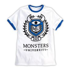 T-shirt White | Store | Monsters University