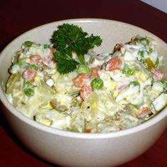 Salade de pommes de terre d'Argentine