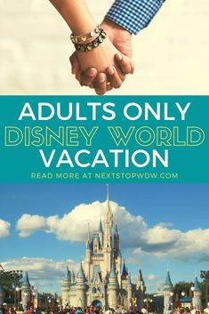 We are thinking about booking an Adults Only Disney World vacation! An adults only Disney World vacation can be a wonderful opportunity to enjoy the resort in an entirely different way. Let's take a look at why to book an adults only Disney World trip and some of the benefits of taking one. Disney World Packing, Disney Travel Agents, Disney World Rides, Disney World Vacation Planning, Disney World Hotels, Disney World Florida, Disney World Parks, Disney Vacations, Disney World Tips And Tricks