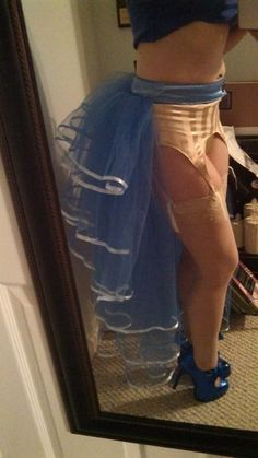 COSPLAY. BUTTS. Tulle Bustle Skirt Tutorial #Cosplay