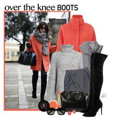 """""""Over-The-Knee Boots"""" by dgia ❤ liked on Polyvore featuring New Look, Alexander Wang, Dolce&Gabbana, Anastasia Beverly Hills, Estée Lauder, Kendall + Kylie, Yves Saint Laurent and ABS by Allen Schwartz"""