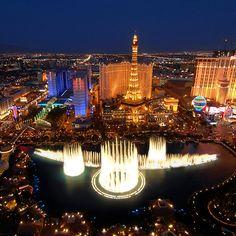 "<3 Tiesto :) ""A Town Called Paradise"" Bellagio Fountain Show In Las Vegas"
