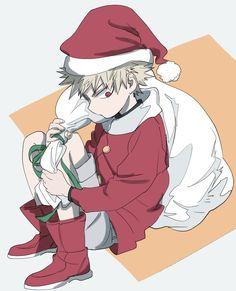 Character: Katsuki Bakugou (Merry Christmas)