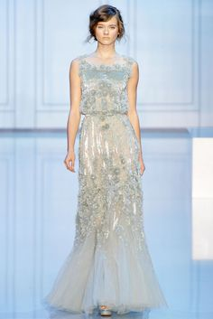 Elie Saab, Fall 2011 Couture #haute_couture #Paris #runway