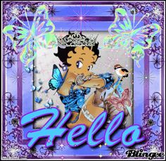 Hello From Betty Boop gif xxx T.D.