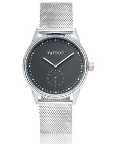 Tayroc – The Boundless TXM083 Silver Meshband