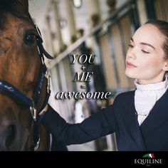 ❤  Relationship goals  ❤ #equiline #equestrian #quotes