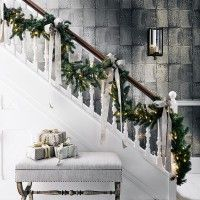christmas hallway ideas - Christmas Hallway Decorating Ideas