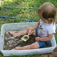 """Warning! This site is ONLY for the """"coolest of moms"""".  30+ Dirty & Muddy kid activities..."""