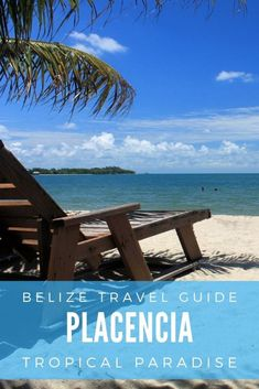Discover Placencia, one of the best beach destination in Belize #holiday #travel #belize #beach #tropical