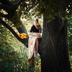 fairy in tree by Irina Mishina on 500px