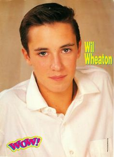 Jehovah's Witness or Dream Boat? 90s Movies, Good Movies, Chad Allen, Wesley Crusher, Wil Wheaton, Star Children, Young Actors, Bff Goals, Cute Actors