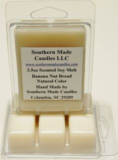 35 oz Scented Soy Wax Candle Melts Tarts  Banana Nut Bread -- You can find more details by visiting the image link.