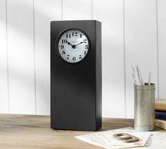 Pottery Barn Industrial Desktop Clock
