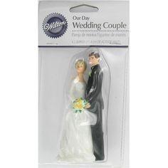Wilton Wedding Couple Cake Topper | Hobbycraft
