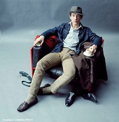 Sir Ian McKellen CBE pictured by Lord Snowdon in 1965