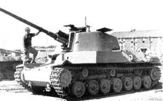 A prototype Japanese heavy tank captured after Japan's surrender