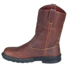 brown medal hard boots