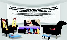 The Publicity shot showing the full range of the Deborah Azzopardi furniture