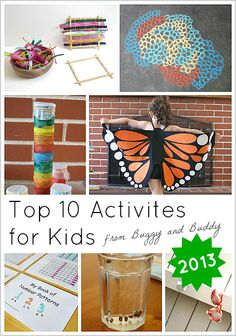 Top 10 Activities for Kids from Buggy and Buddy for 2013