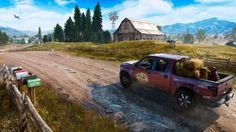 How Far Cry 5 Chose its New Dystopian Setting: Rural America