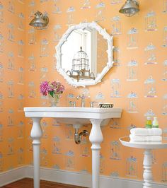 I love everything about this room!! The Vanity especially!