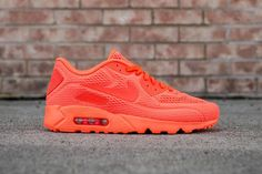 newest fae03 f3707 Cheap Nike Air Max 90 Ultra Br Bright Yellow Trainers Sale For Mens And  Womens