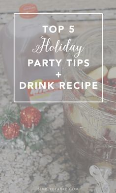 Hosting a Holiday Party? Here are 5 TOP TIPS & a fun, festive Milo's Tea Recipe to spice up your party. #PassTheMilos #Pmedia #ad