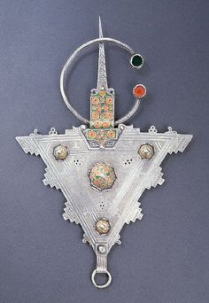 Decorative Berber Necklace, Morocco
