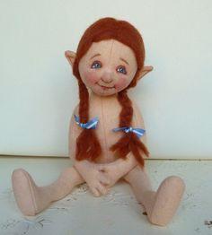 little Gnome girl by helenpriem.