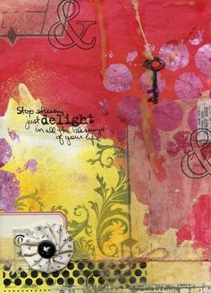 Art Journal Inspiration by stw121440