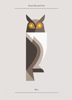 'Great Horned Owl' from the Lumadessa Series by Josh Brill