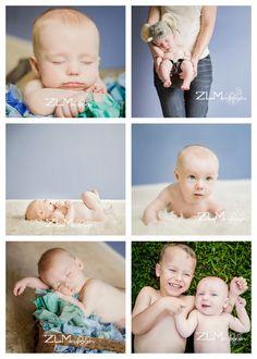 3 month photos, love the blue.