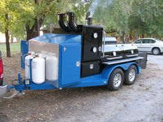 Bbq Pit Smoker, Barbecue Pit, Bbq Grill, Custom Bbq Smokers, Custom Bbq Pits, Bar B Que Grills, Smoker Cooker, Diy Wood Stove, Smoker Trailer